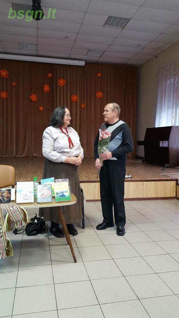 2017m. Susitikimas su Nepriklausomų rašytojų sąjungos nare Karolina Kazlauskiene