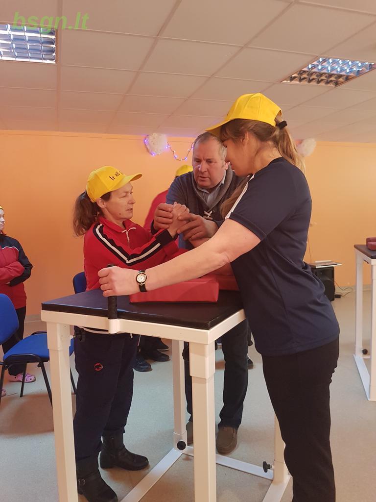2018m. Dalyvavimas rankų laužimo varžybose Adakavoje
