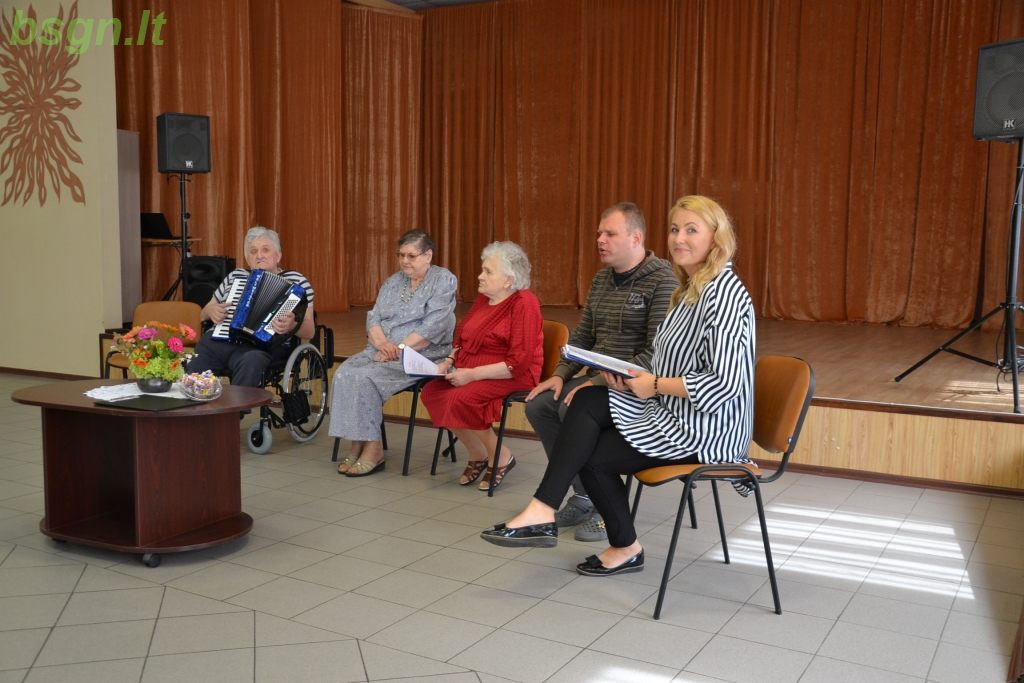2019m. Žolinė Blinstrubiškių socialinės globos namuose