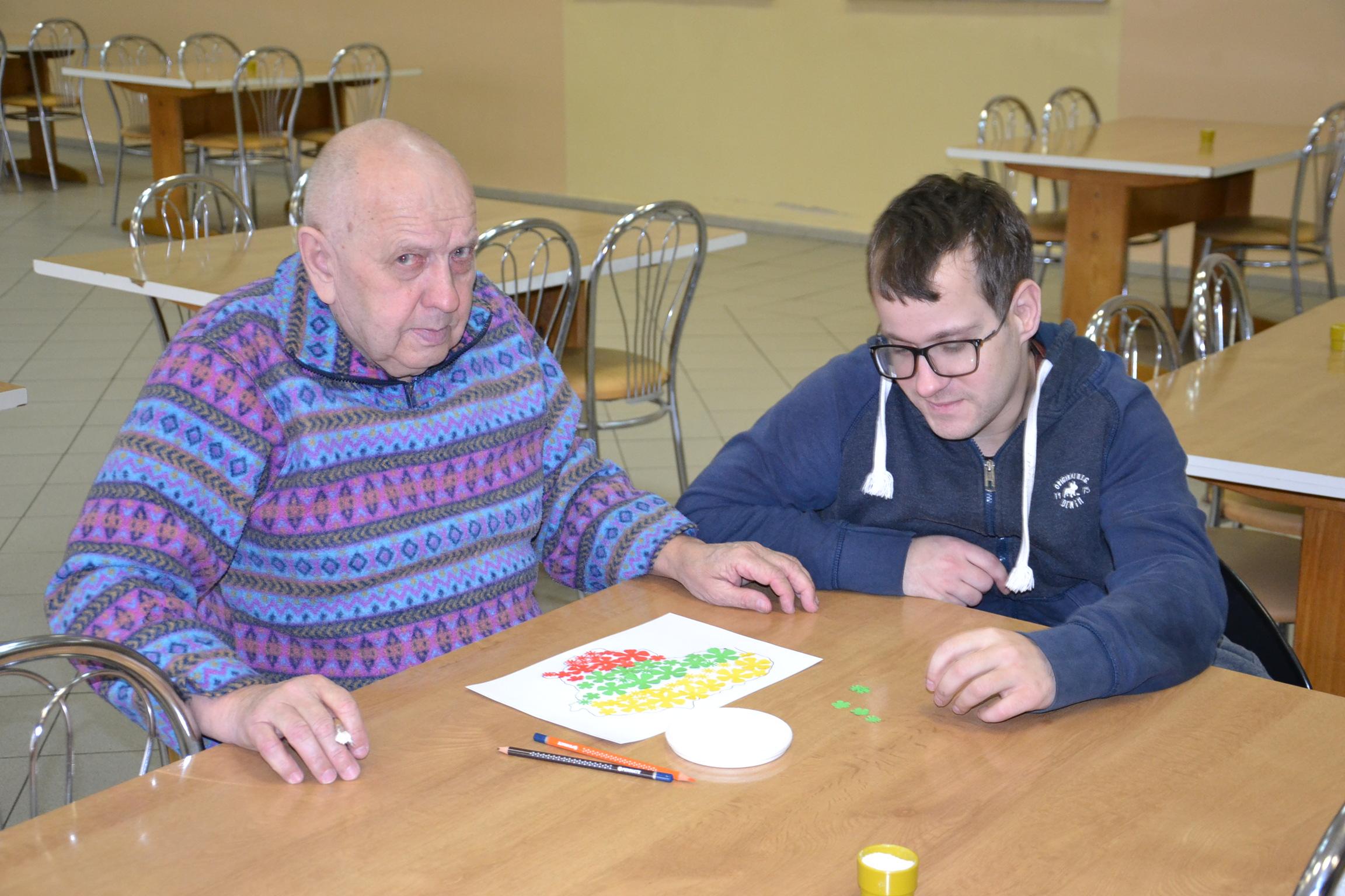 2020m. Kalėdų senelio apsilankymas Blinstrubiškių socialinės globos namuose