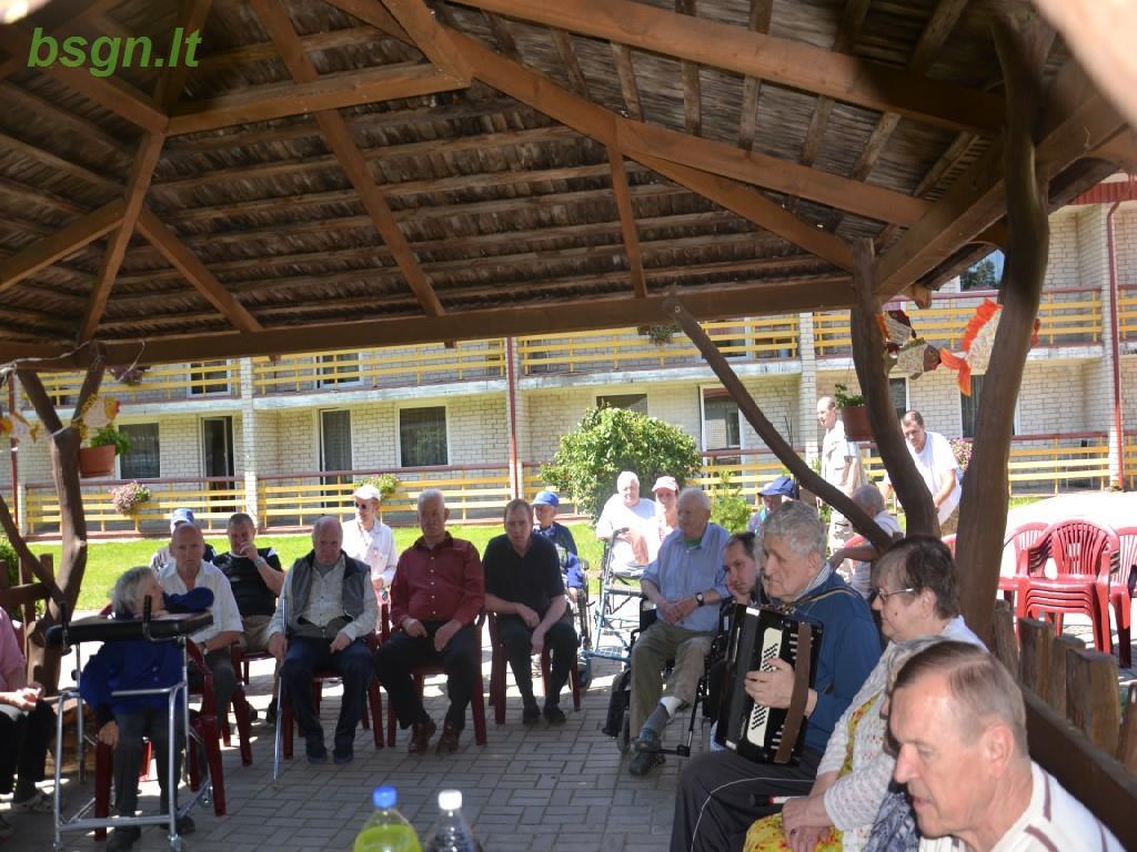 2017m. Žvejo šventė Blinstrubiškių socialinės globos namuose