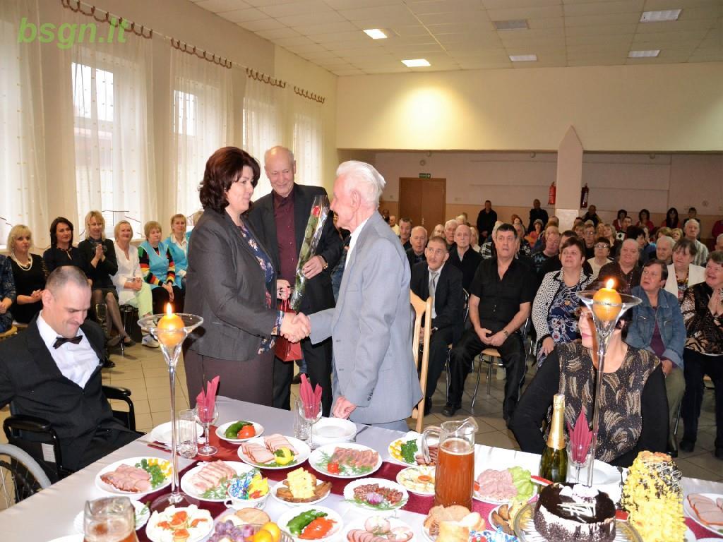 2016m. Jubiliatų šventė Blinstrubiškių socialinės globos namuose