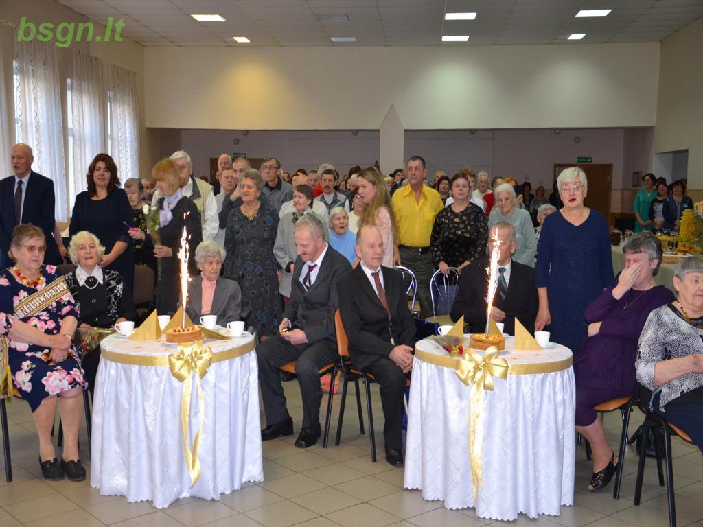 2018m. Jubiliatų šventė Blinstrubiškių socialinės globos namuose
