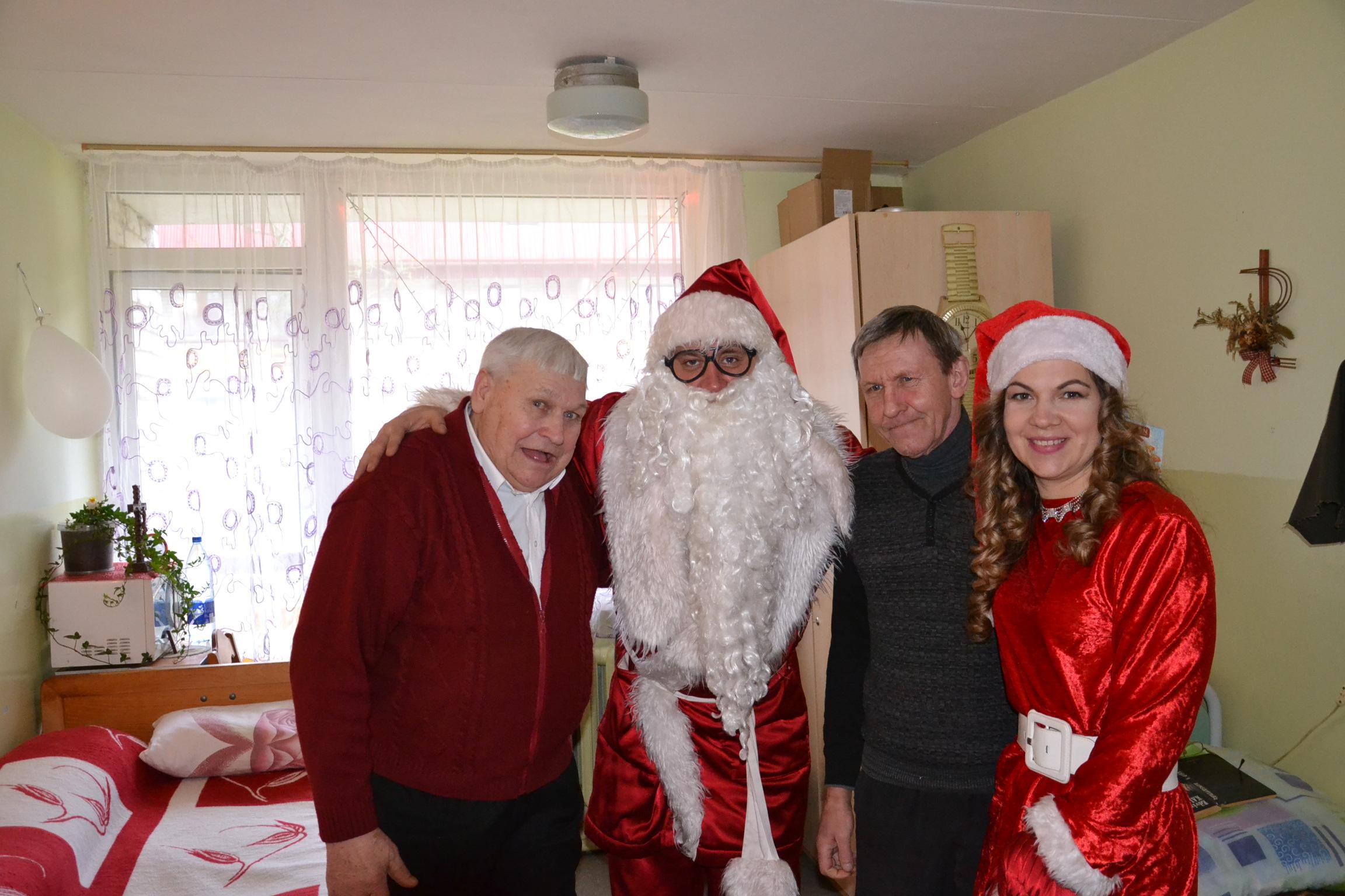 2019m. Kalėdų senelio apsilankymas Blinstrubiškių socialinės globos namuose